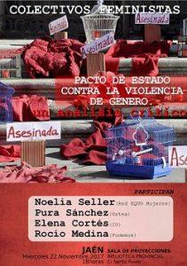 """""""Un Análisis Crítico: Pacto de Estado contra la Violencia de Género"""". Encuentro desde Jaén"""
