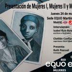 """Presentación de la obra """"Mujeres"""" de Isabel Ruiz . Homenaje a las """"olvidadas"""""""
