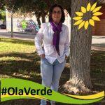 Toñi Gómez, coportavoz de EQUO, Candidata en Verde en Murcia